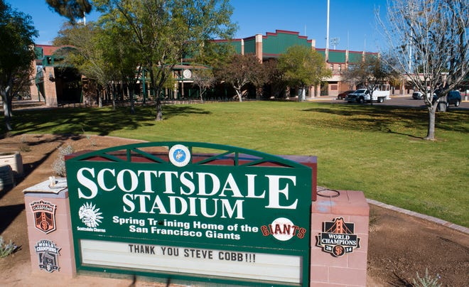 Scottsdale Stadium is becoming the home of the Pac-12 Baseball Tournament.