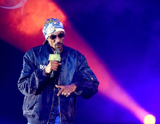 Snoop Dogg performs at the Puff Puff Pass Tour 3 at the Microsoft Theatre on Dec. 15, 2018 in Los Angeles.
