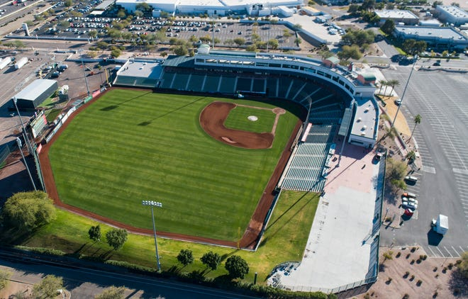 The Arizona Department of Transportation plans to buy 1.85 acres of land at Tempe Diablo Stadium used for parking for the expansion of Interstate 10.