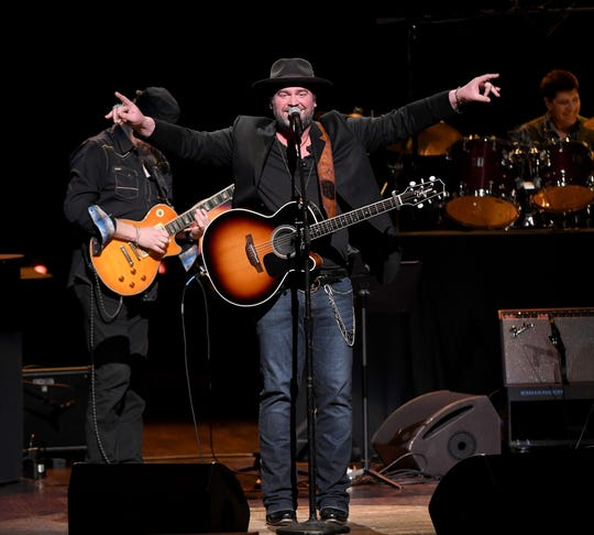 Lee Brice performs a C'Ya on The Flipside benefitting The Troy Gentry Foundation at The Grand Ole Opry on January 9, 2019 in Nashville,