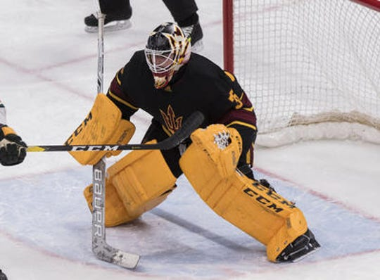 Arizona State goaltender Joey Daccord is the first Sun Devil hockey player to sign an entry-level contract.