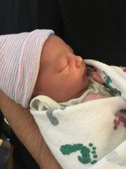 Alianna Mae Lee, newborn daughter of Tori Stottlemyer and Zachary Lee, was born at Chambersburg Hospital on Jan. 20. She waited just long enough, after Saturday's winter storm had passed, to let her mom know it was time to go to the hospital.