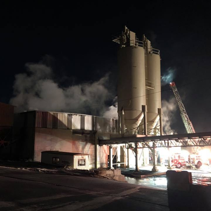 Fire causes $1 million in damage at York City quarry buildings