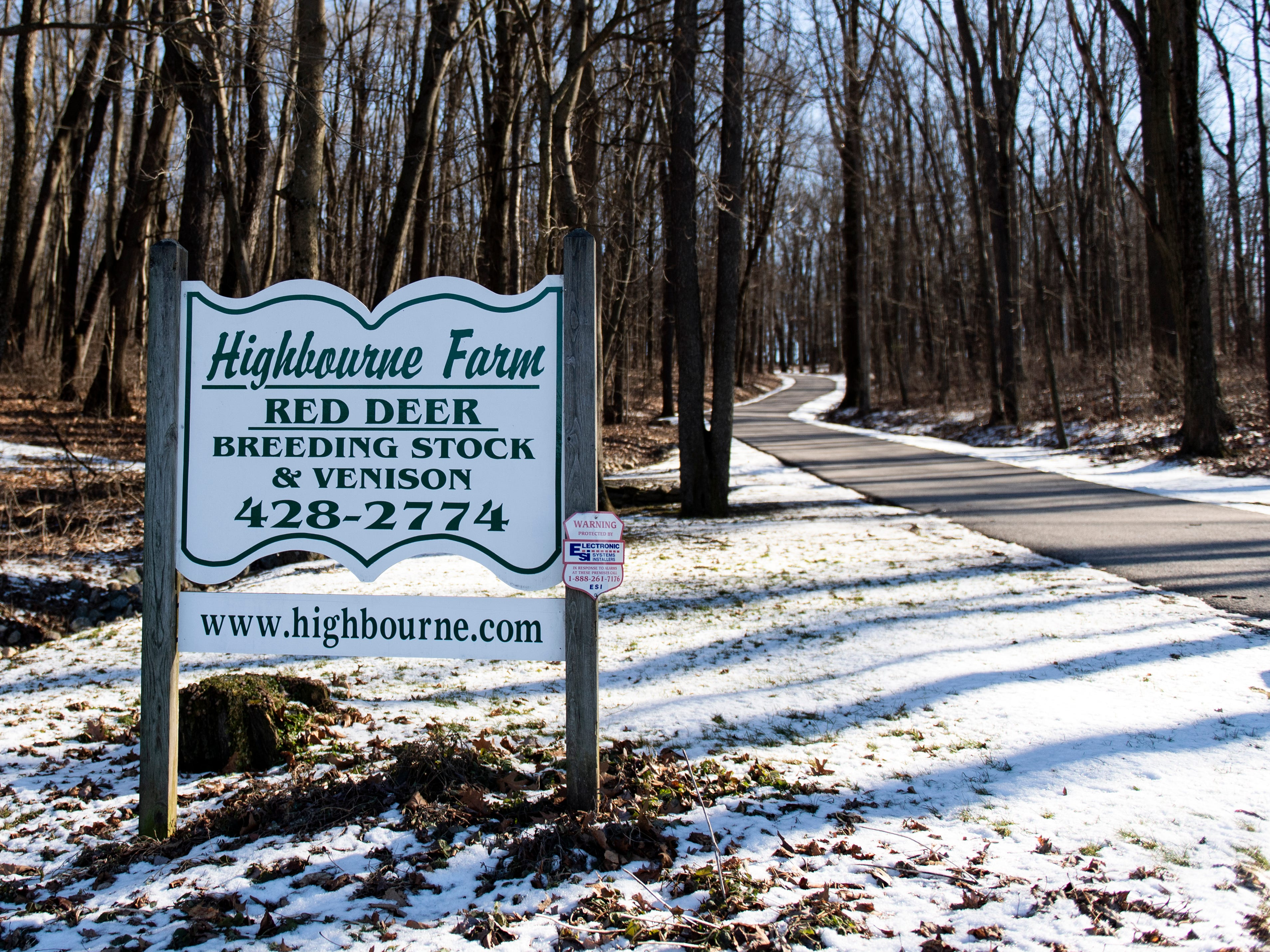 Highbourne Farms, in Dallastown, breeds Red deer for meat. It's one of the few places in the York-area where venison is readily available for purchase year-round.