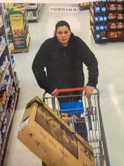 West Manchester Township Police are seeking the identity of this woman, in connection with a theft at the Walmart.