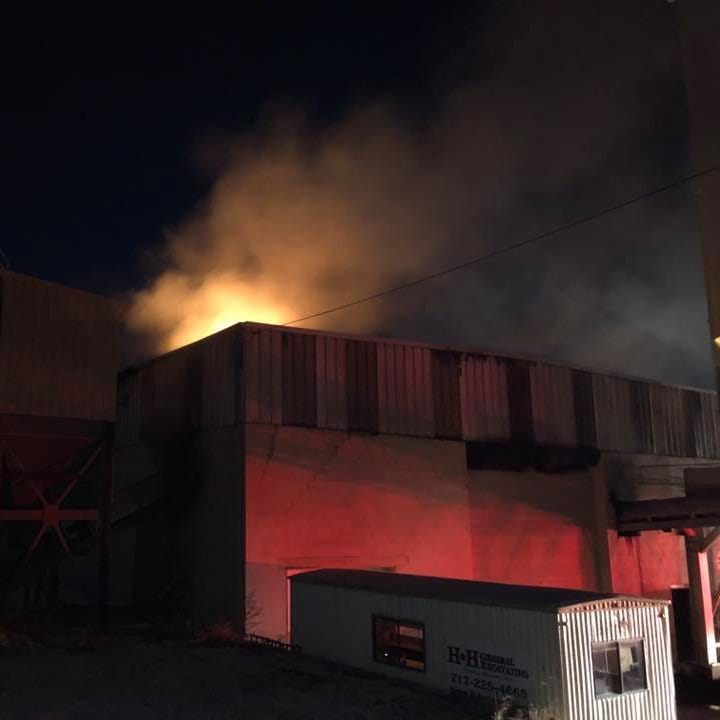 Fire causes $1 million in damage at York industrial building