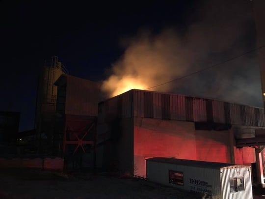 Fire broke out at a York business early Tuesday morning, causing about $1 million in damage.