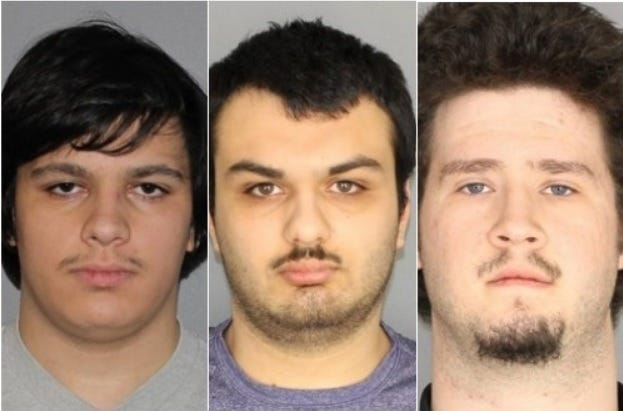 Four arrested in connection with an alleged plot to bomb Muslim community in New York