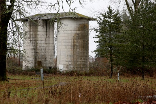 An abandoned structure near the Heritage School on the former Fairview Training Center site in Salem on Sunday, Jan. 20, 2019.