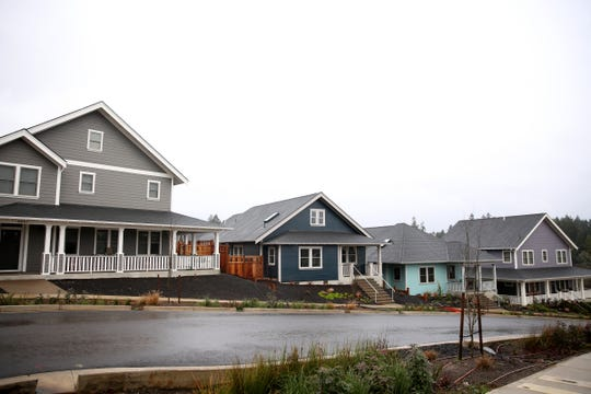The Fairview Addition housing development near the former Fairview Training Center site in Salem on Sunday, Jan. 20, 2019.