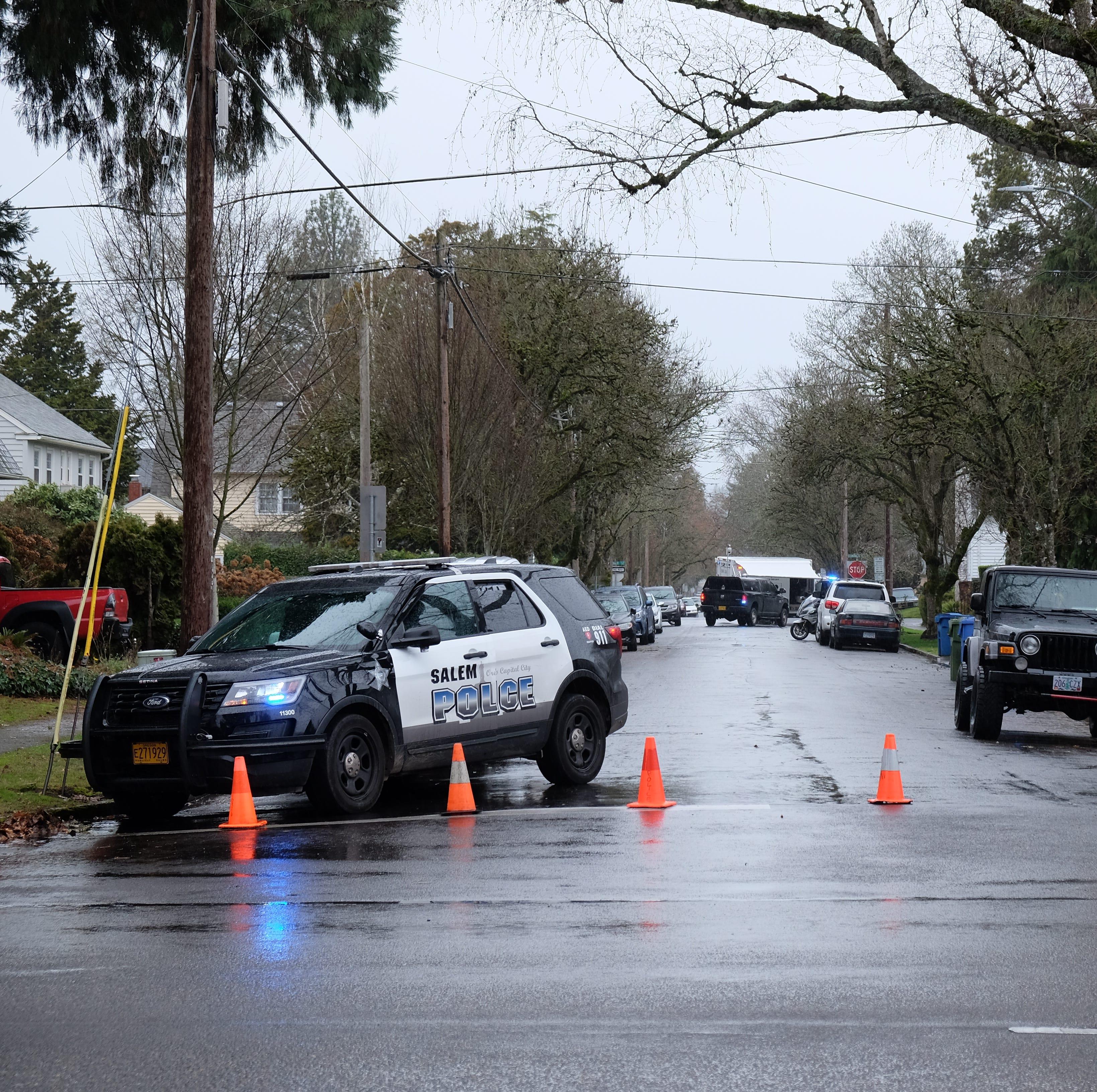 Salem police SWAT team takes burglary suspect into custody on Summer Street NE