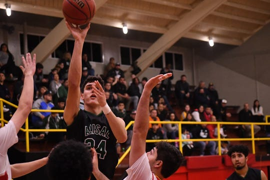 Alisal forward Sebastian Reynoso (24) had a dominant stretch of games last week and earned enough votes to win Boys' Athlete of the Week.