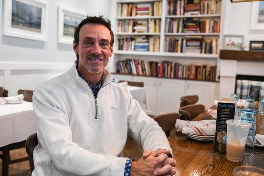 Eric Overman poses in Bluecoast restaurant in Rehoboth Beach on Friday, Jan. 18, 2018.