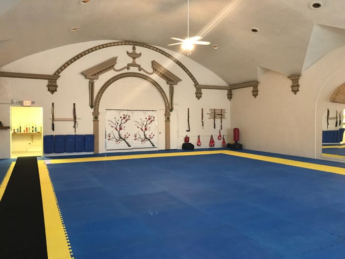The upper portion of the space will be for Sunshine Yoga and other health offerings.