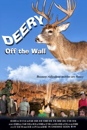 The movie poster for Deery Off The Wall