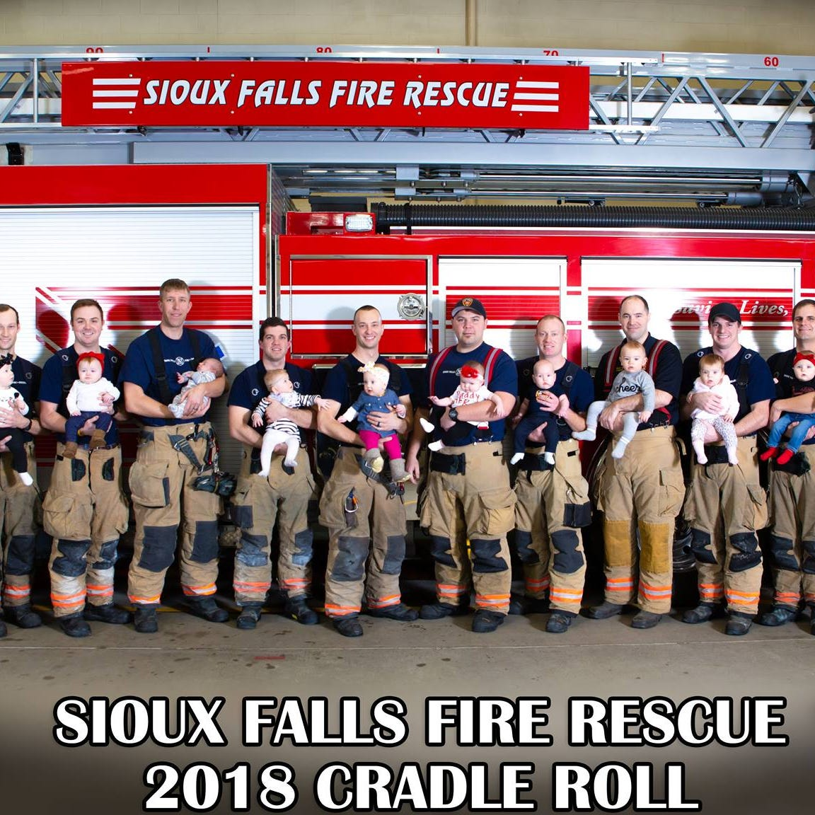 Sioux Falls Fire Rescue posts picture of cutest recruit class yet