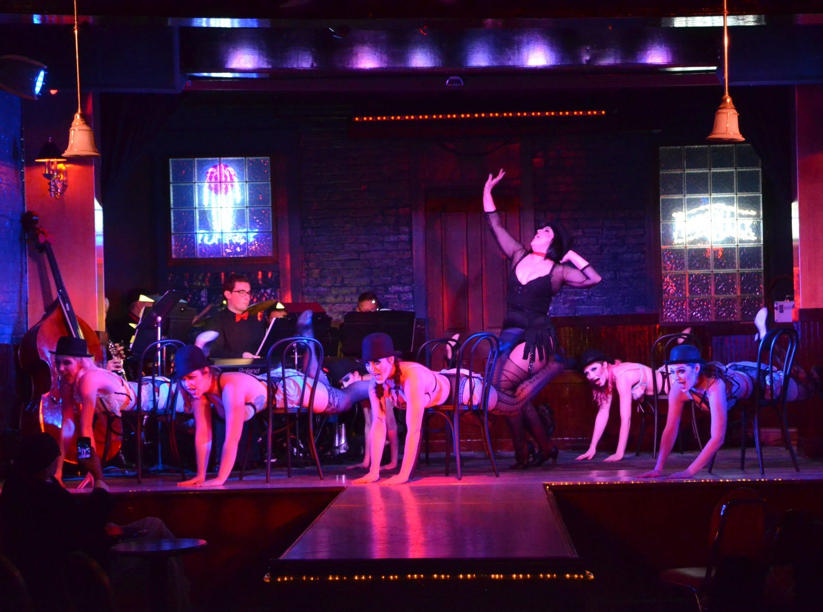"""Springfield Little Theatre's """"Cabaret!"""" is being staged at Nathan P. Murphy's while the Landers Theater is undergoing renovation."""
