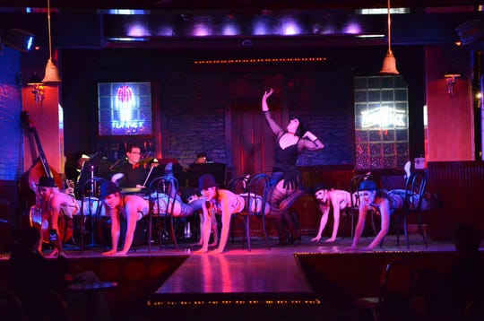 "Springfield Little Theatre's ""Cabaret!"" is being staged at Nathan P. Murphy's while the Landers Theater is undergoing renovation."