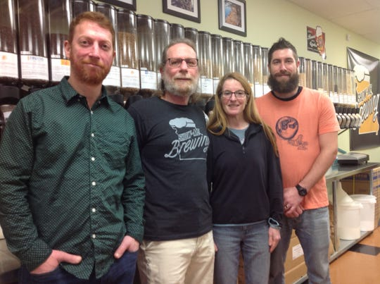Andy and John Pearsall, Julie Cogell and John Gilbey are the team behind Show Me Brewing.
