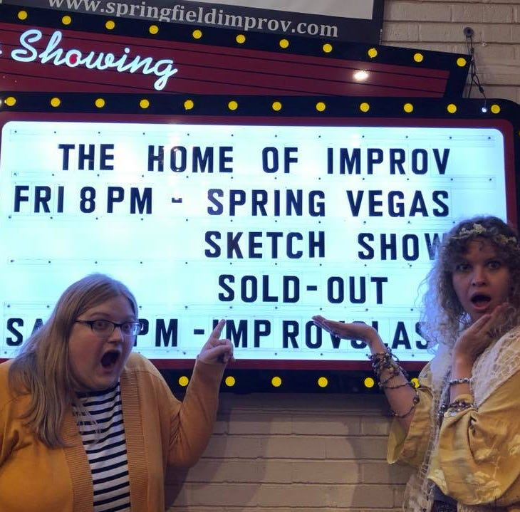 Springfield had no sketch comedy show, so she created one