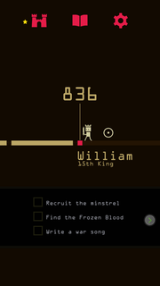 """Reigns"" is a simple, fun story available on most mobile devices for $2.99, writes Nathan Snow."