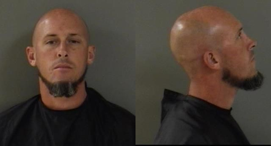 Joseph Daniel Kight, 32, was arrested after Vero Beach police said he broke into several plumbing trucks and stole spools of copper tubing.