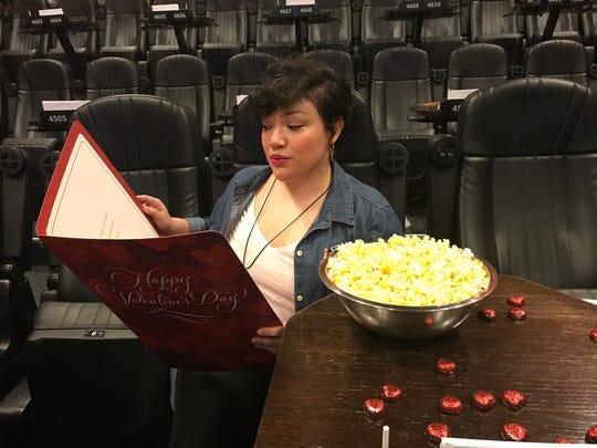 Alamo Drafthouse creative manager Analiza Guzman has the perfect date for Valentine's Day: a movie party at the West Side theater.