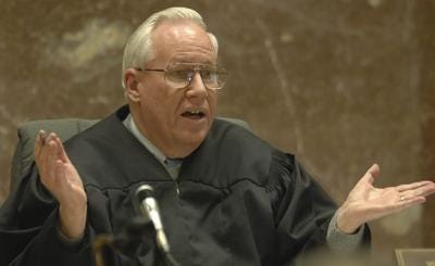 Marathon County Circuit Court Judge Vincent Howard presides over a 2007 murder trial.