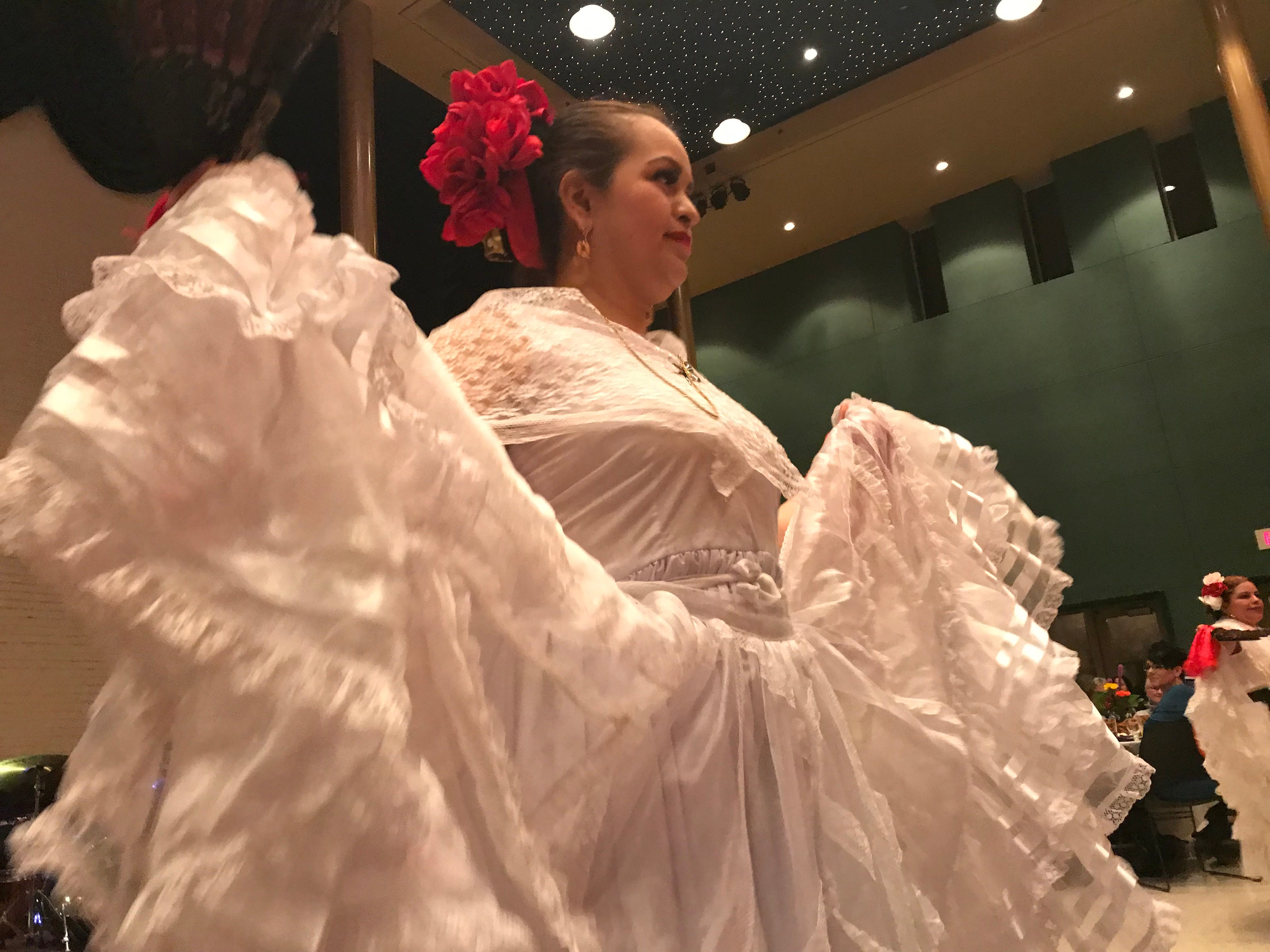 Dancers perform at the MLK Day celebration at the Grand Theater in Wausau.