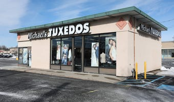 There's a proposal to bring 2 free-standing restaurants to the site of Michael's Tuxedos in Nanuet.