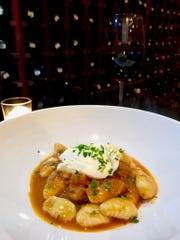 Housemade potato gnocchi with duck ragu and fresh ricotta at Vintage 1891 in Larchmont.