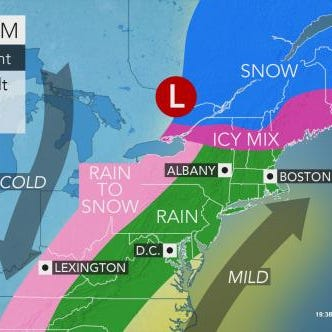 Weather: 5 things to know about cold, icy, warm week