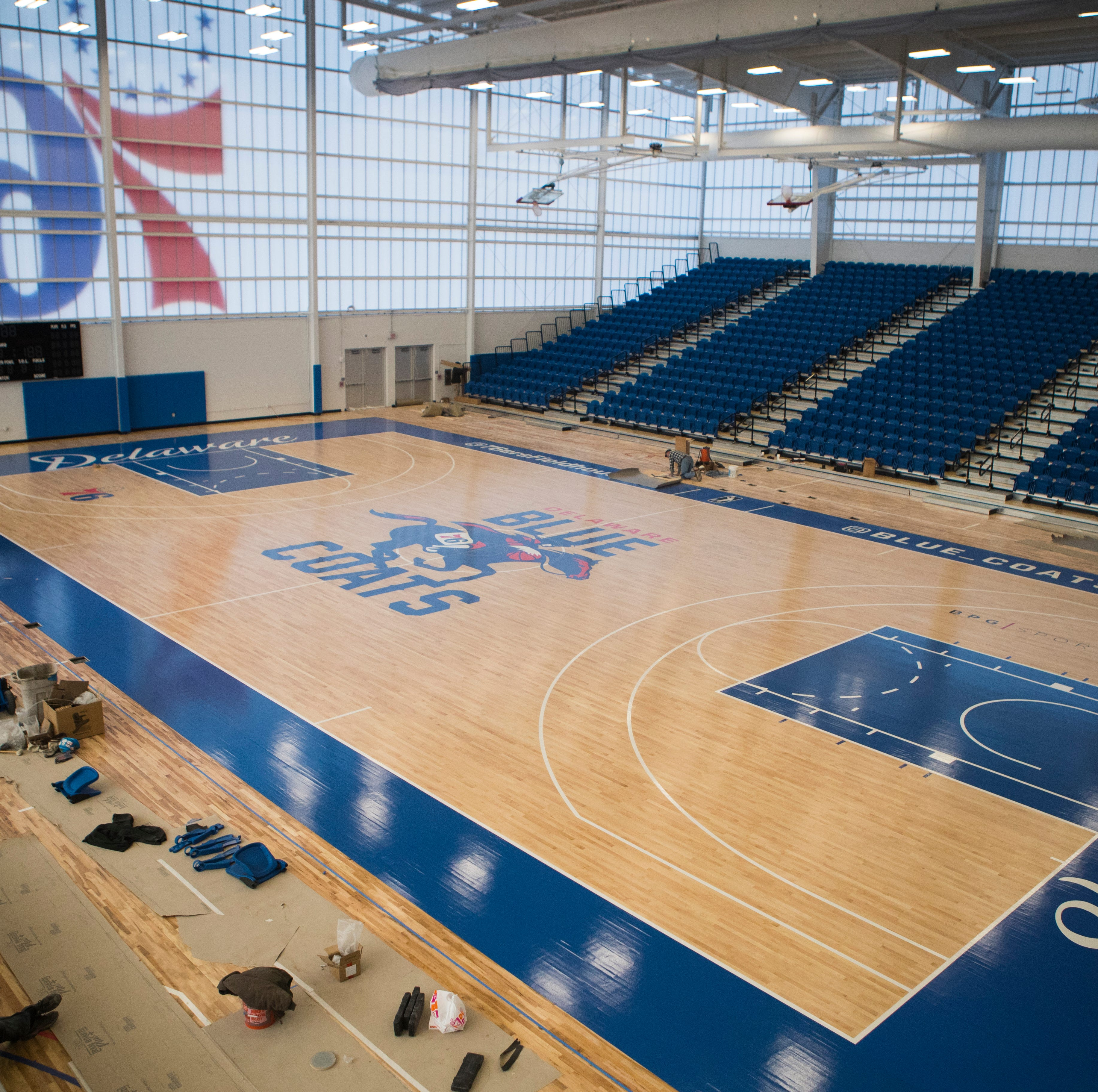 It's time for tip-off in Wilmington's 76ers Fieldhouse