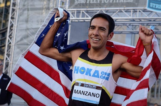 Leo Manzano, a 2012 Olympic silver medalist, will be speaking at Midwestern State on Thursday.