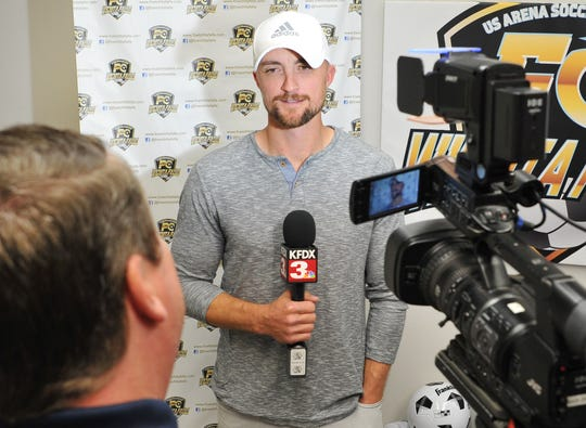 Professional Arena Soccer Team, FC Wichita Falls newly announced head coach, Brandon Swartzendruber, answered media questions after a press conference Tuesday afternoon.