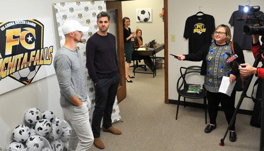 Professional Arena Soccer Team, FC Wichita Falls newly announced head coach, Brandon Swartzendruber, and volunteer assistant coach, Marcelo Campolino answered media questions after a press conference Tuesday afternoon.