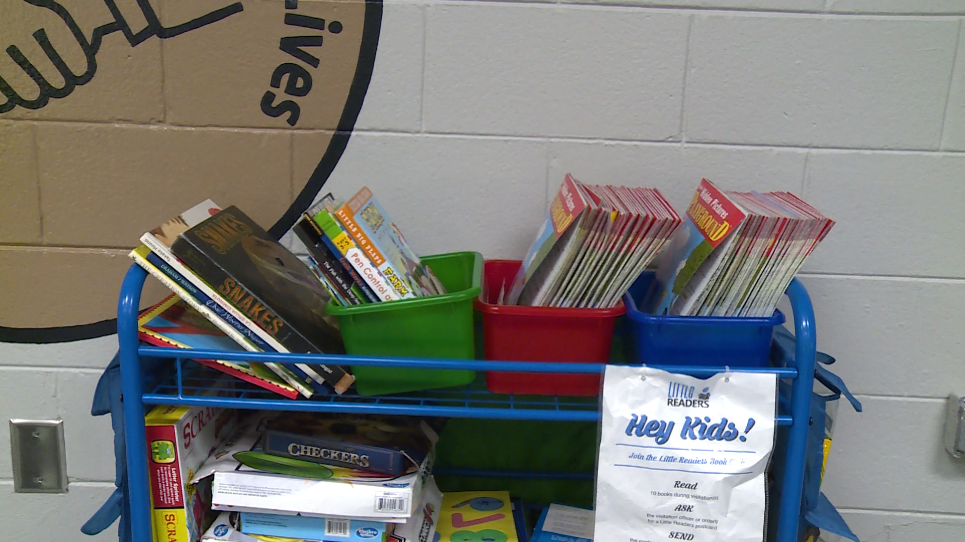 Literacy carts give incarcerated parents and their kids a chance to bond.
