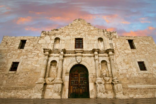In Texas, the Alamo and four other San Antonio missions have won status as a World Heritage Site.