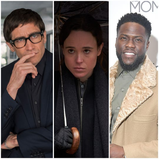 "Jake Gyllenhaal, Ellen Page and Kevin Hart all have projects arriving on Netflix in February: ""Velvet Buzzsaw,"" ""The Umbrella Academy"" and ""Kevin Hart's Guide to Black History."""