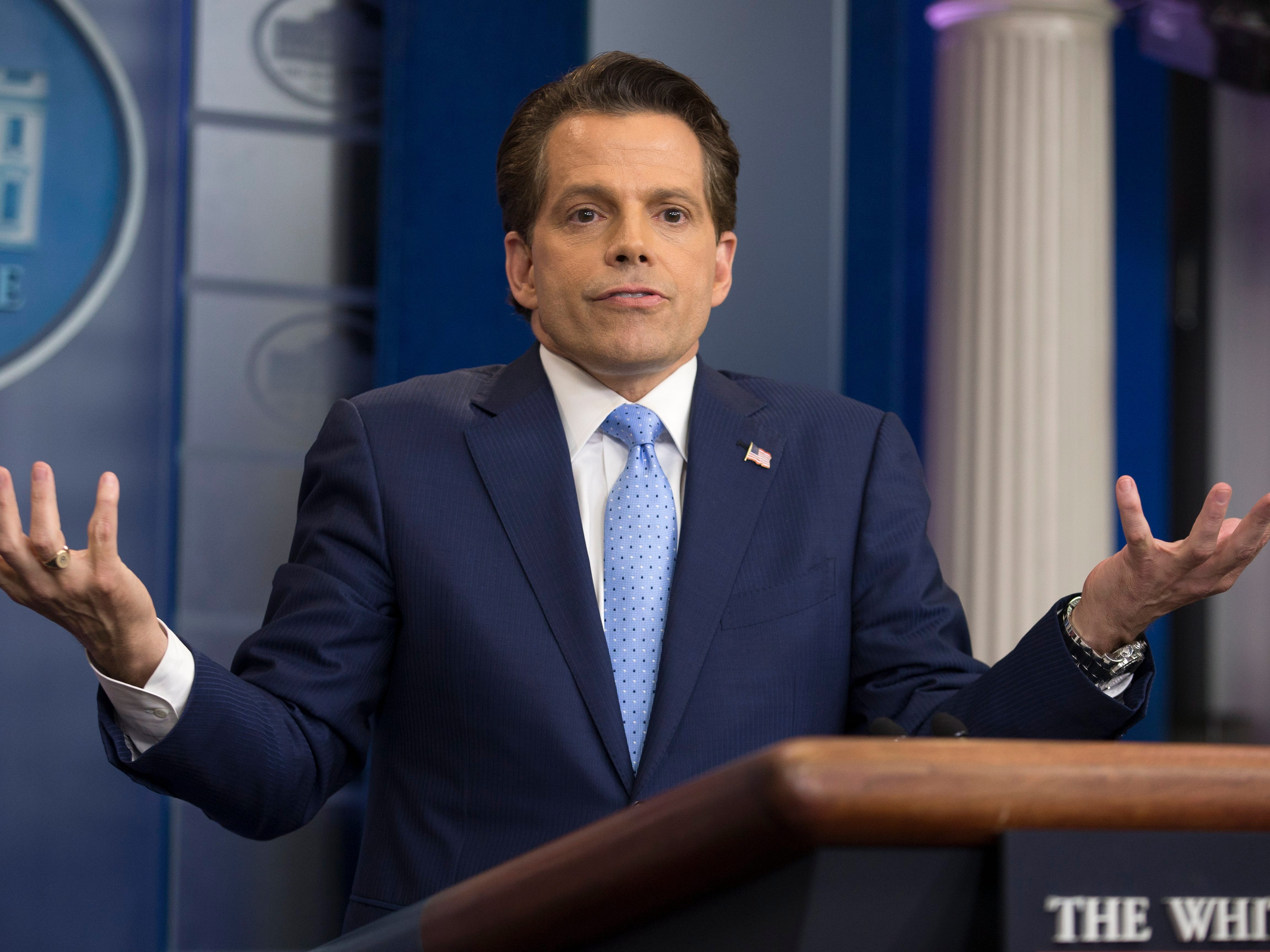 Anthony Scaramucci defends 11-day White House stint on 'Celebrity Big Brother'