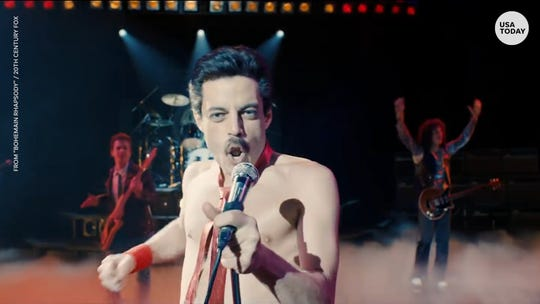 Rami Malek sings in biopic of