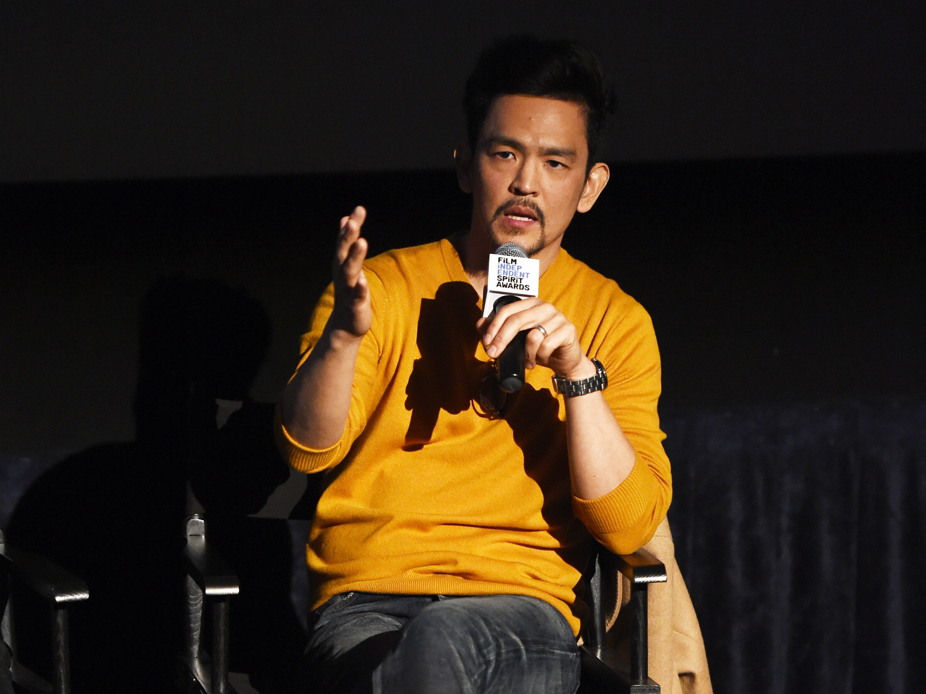 """CULVER CITY, CALIFORNIA - JANUARY 21:  John Cho attends the Film Independent Spirit Awards Screening Series screening of """"Searching"""" at ArcLight Culver City on January 21, 2019 in Culver City, California. (Photo by Amanda Edwards/Getty Images) ORG XMIT: 775276696 ORIG FILE ID: 1097741906"""