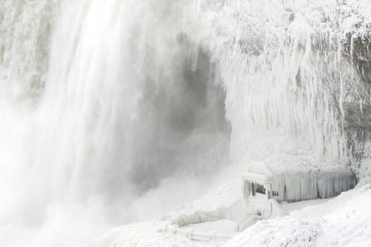 Here's a look at Niagara Falls from last year, though pictures from this year's cold can be found below.