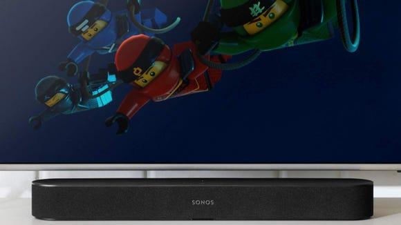 Upgrade your TV with a soundbar.