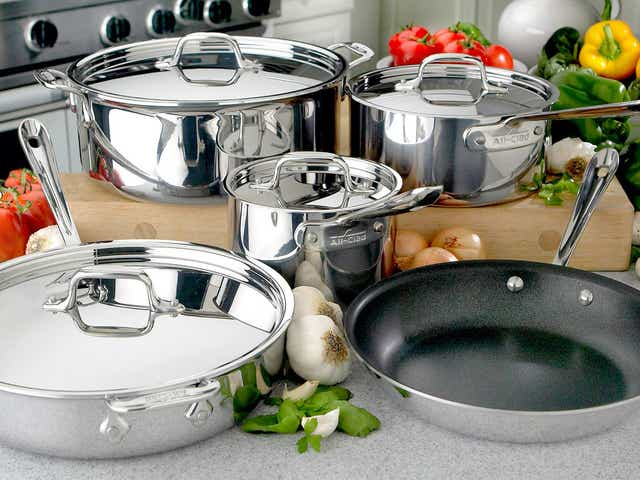 All-Clad is having a huge sale on high-end cookware right now