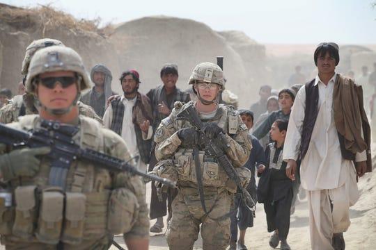 Near Kandahar, Afghanistan, on March 2, 2014.