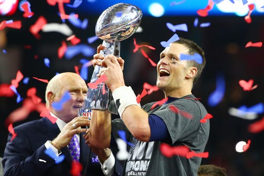 Tom Brady has won five Super Bowls and is about to make his ninth Super Bowl appearance.