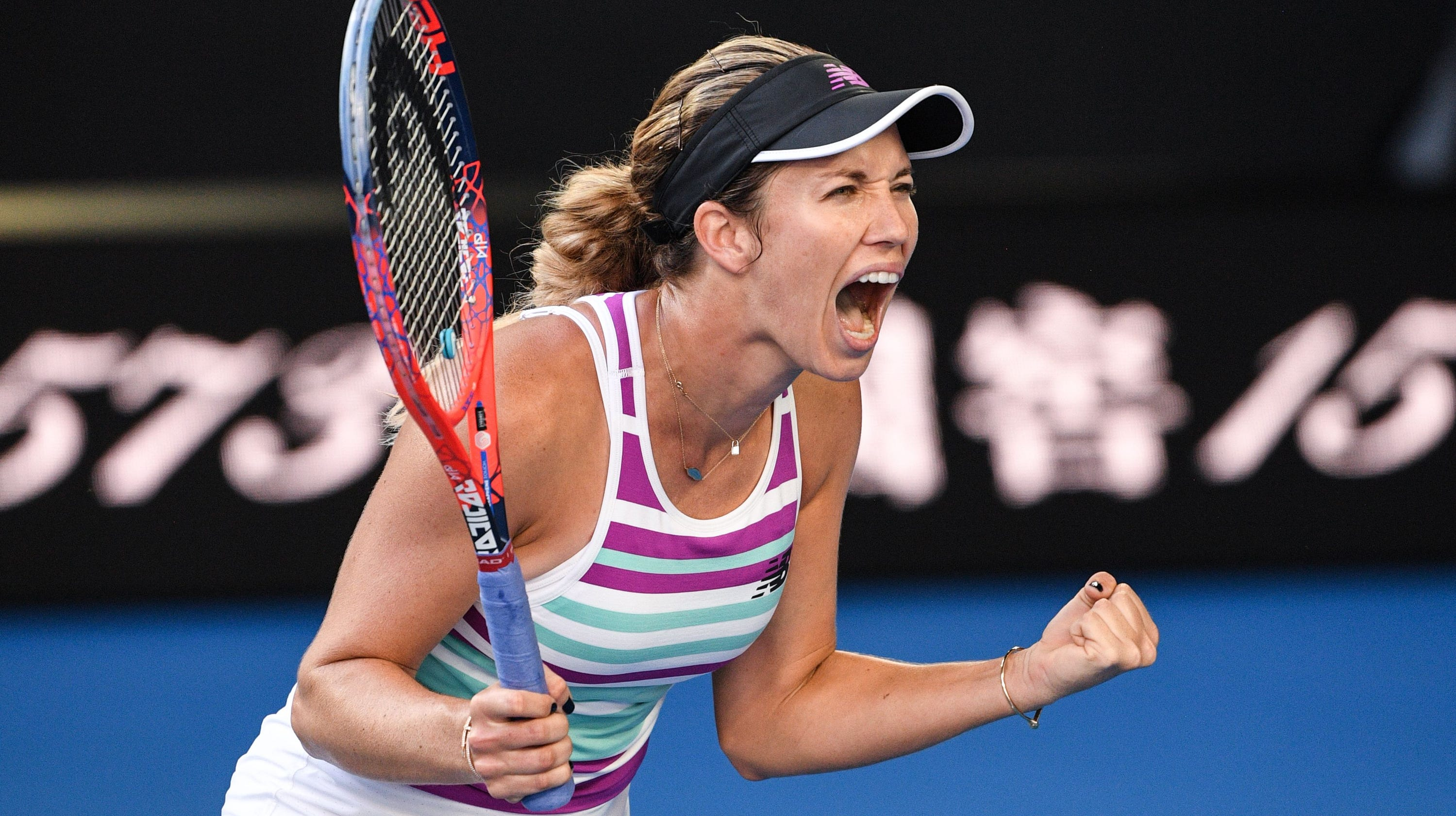 Australian Open Surprising American Danielle Collins Reaches Semis