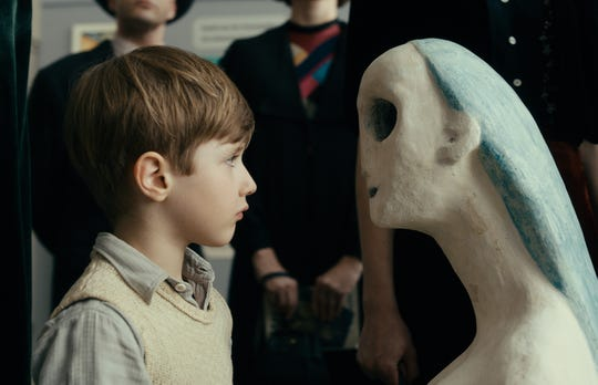 "Cai Cohrs as young Kurt Barnert in ""Never Look Away."""