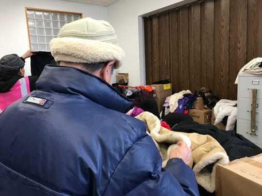 2.During the statewide homeless count, Elijah's Promise distributed bags of toiletries, coats, blankets and underwear to the homeless.